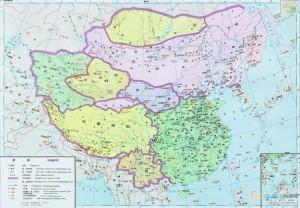 Китай на картах китайских школьников 10