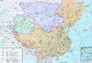 Китай на картах китайских школьников 2