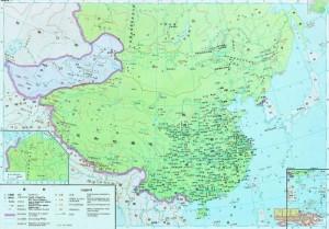 Китай на картах китайских школьников 3