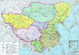 Китай на картах китайских школьников 4