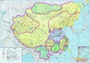 Китай на картах китайских школьников 5