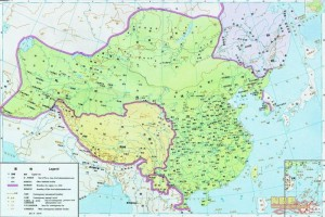Китай на картах китайских школьников 6