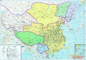 Китай на картах китайских школьников 7