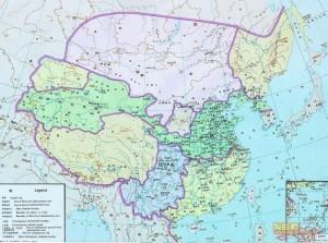 Китай на картах китайских школьников 9