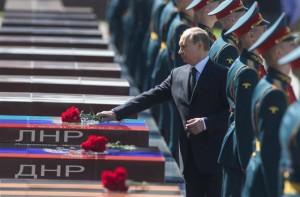 Путин хоронит ополченцев
