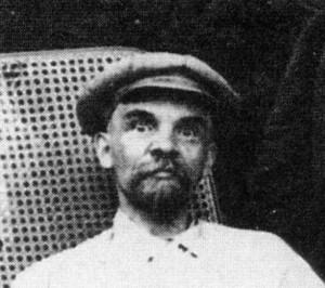 больной Ленин в Горках