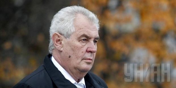 Импичмент президента Чехии