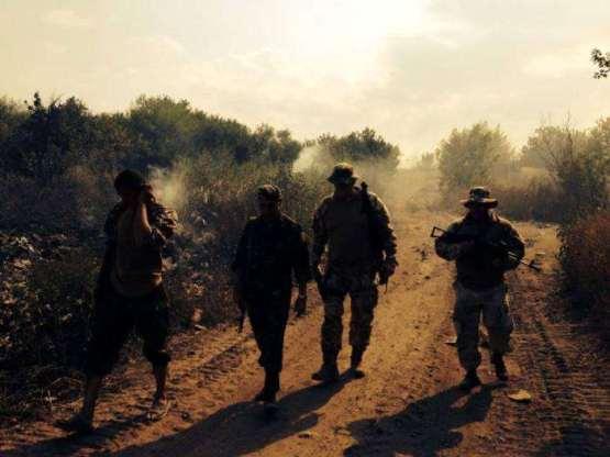 В Закарпатье как на войне бойцы Правого сектора уже вышли из окружения