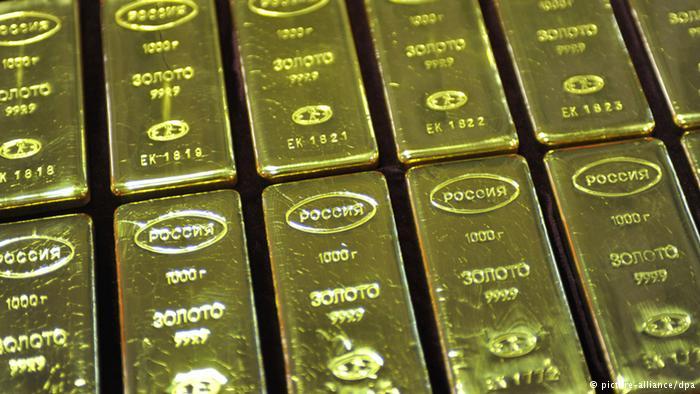 Золото в России