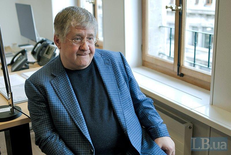 Игорь Коломойский в Женеве
