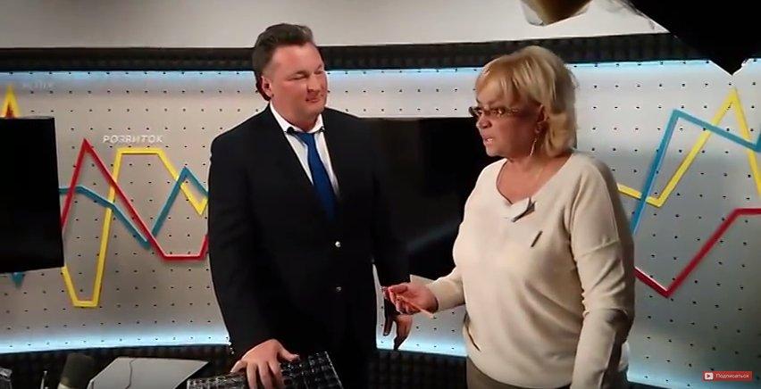Балашов и Кужель после эфира