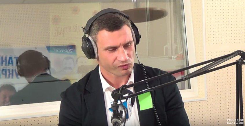 Виталий Кличко у Балашова