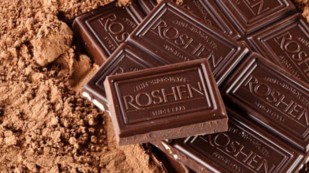 Конфеты Roshen не продаются в Европе и США