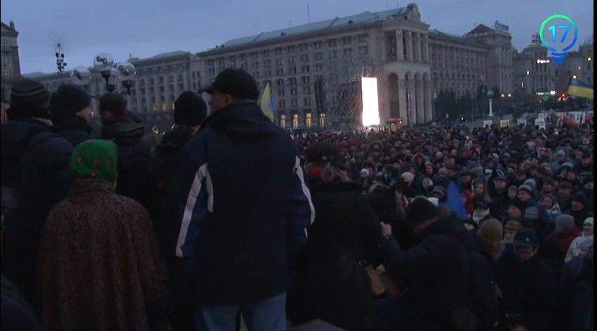Віче Майдану, С.Хмара - визнати агресію, розірвати дипвідносини і вигнати Порошенко