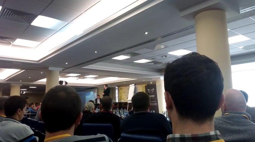 Геннадий Балашов на конференции по бизнесу с Китаем
