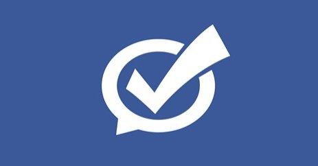 Голосование в Facebook
