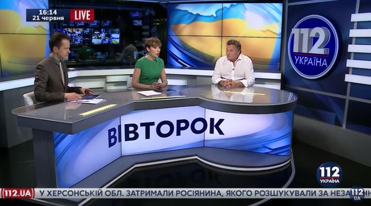 Геннадий Балашов, общественный деятель - гость 112