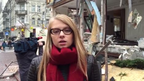 Бандиты и полиция, как одна коалиция, под управлениям властей Киева