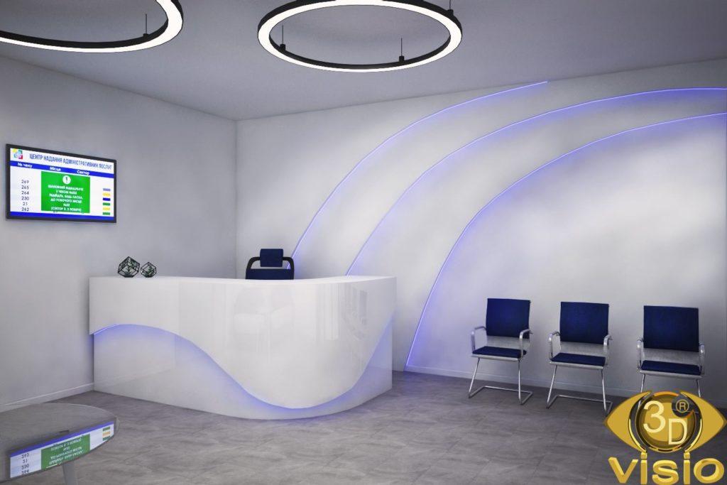 3D визуализация офиса, Киев