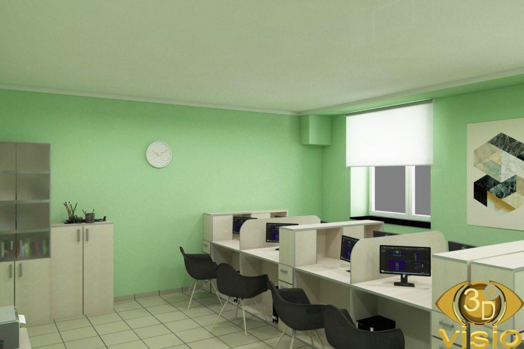 3D-визуализация офиса, Киев