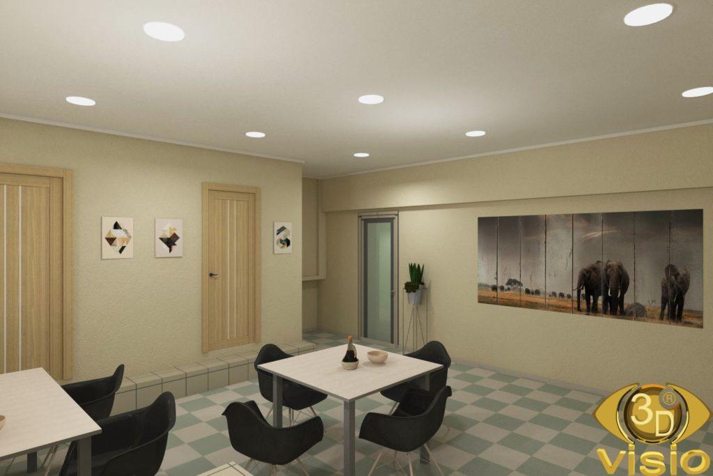 3D-визуализация офиса