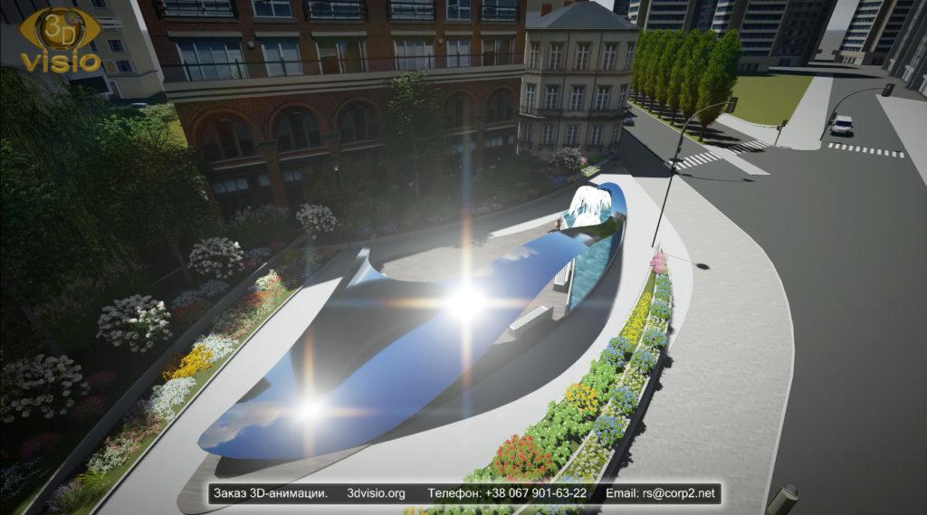 Изготовление 3D-анимации архитектурных объектов