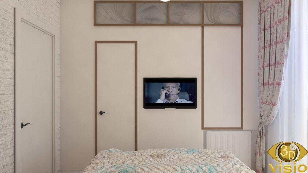 Визуализации спальни 3D