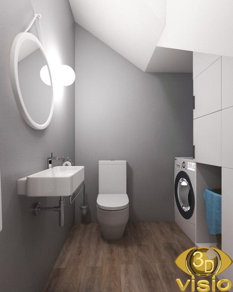 Визуализация туалета 3D