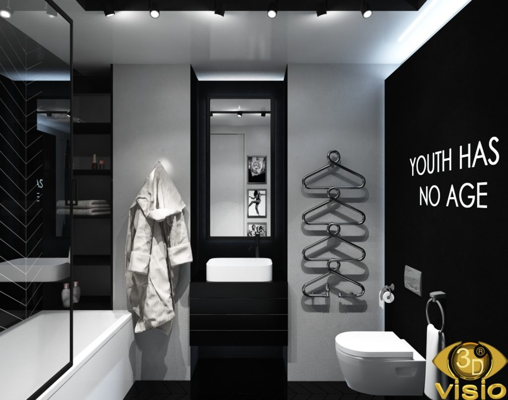Визуализация ванной комнаты 4