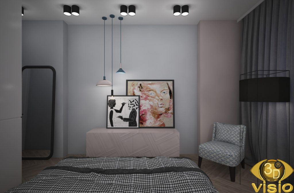 Визуализация спальни 4