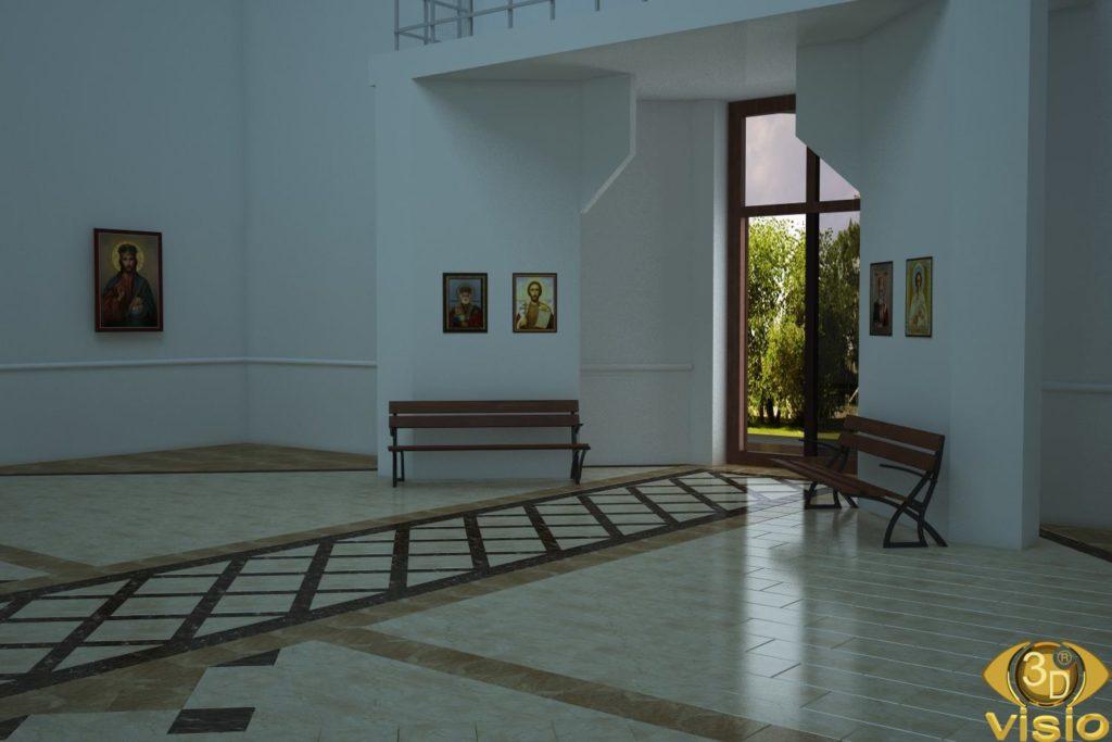 3D визуализация церкви 4